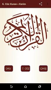 Kuran-ı Kerim 6.Cüz - náhled
