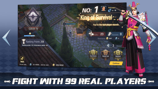 Survival Heroes - MOBA Battle Royale captures d'écran 5
