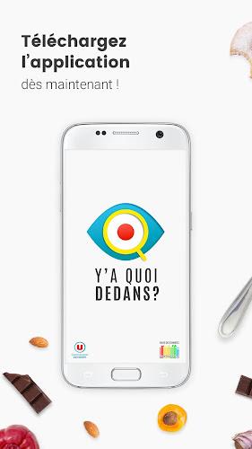 Y'A Quoi Dedans Android App Screenshot