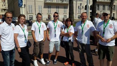 Photo: Le team Nissa la Bella au grand complet : champions !