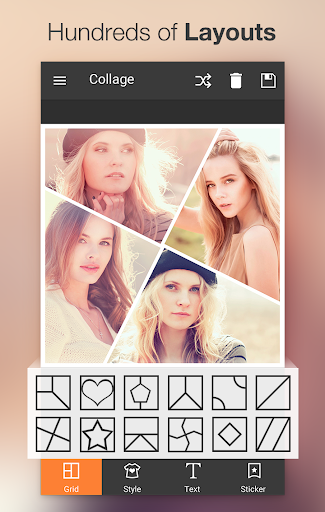Photo Collage Editor 2.94 screenshots 2