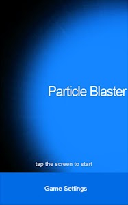 Particle Blaster Full screenshot 0