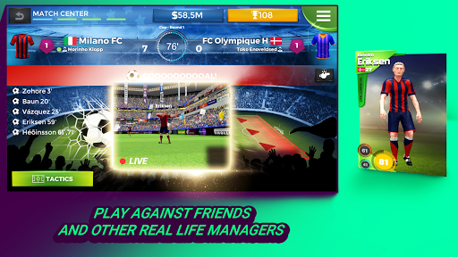 Pro 11 - Football Management Game apktreat screenshots 1