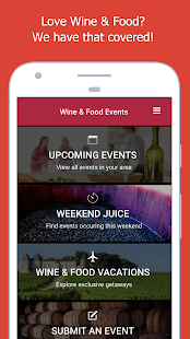 Wine Events- screenshot thumbnail