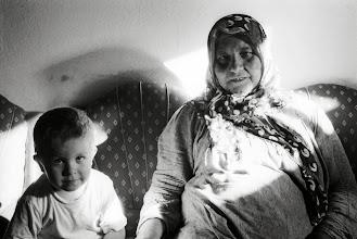 Photo: Grandma with grandson, Bazit (Doğubayazıt) 2007