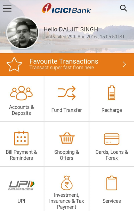 Screenshots of ICICI Mobile Banking - iMobile for Android