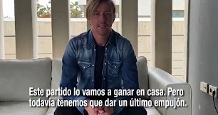 José María Gutiérrez, 'Guti', también tiene un mensaje para Almería.