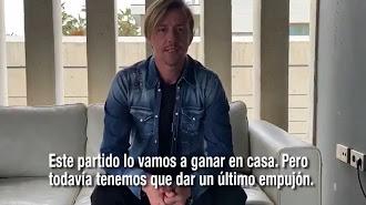 José María Gutiérrez, \'Guti\', también tiene un mensaje para Almería.