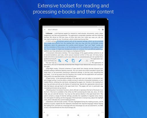 FullReader – e-book reader 4.0.7 screenshots 12