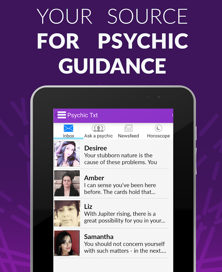 Psychic Txt & Daily Horoscopes- screenshot