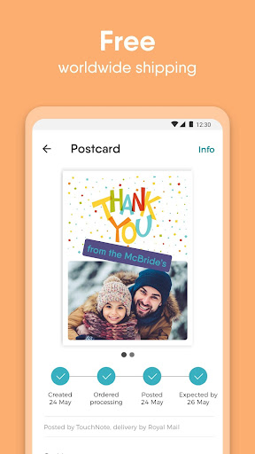 TouchNote - Design, Personalize & Send Photo Cards screenshots 5