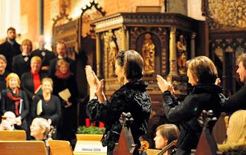 Photo: Applaus der Solisten