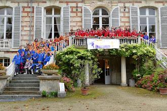 Photo: DIMANCHE 21 septembre 2014: Scouts et Guides de France du groupe de LISIEUX