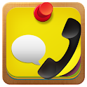Call & WhatsApp Reminder Notes icon