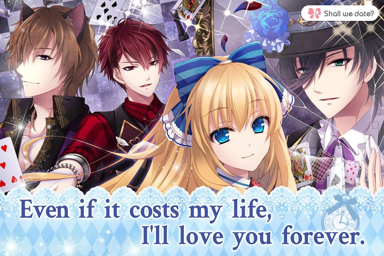 Lost Alice - otome game/dating sim shall we date 1.4.3 Update