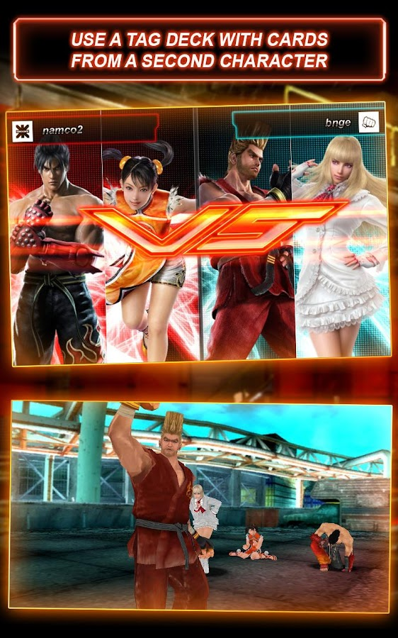 Tekken-Card-Tournament-CCG 19