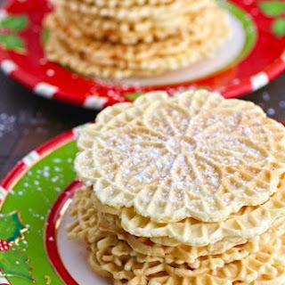 Orange-Amaretto Pizzelle Cookies Recipe