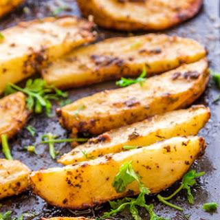 Italian Spiced Parmesan Baked Potatoes