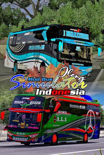 Mod Bus Oleng Simulator Indonesia 1.2 screenshots 1