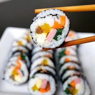 Kimbap - 김밥.
