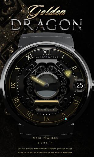 Golden Dragon Watch Face
