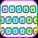 Colorful Laser Keyboard Theme icon