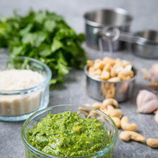 Cashew Pesto Recipe