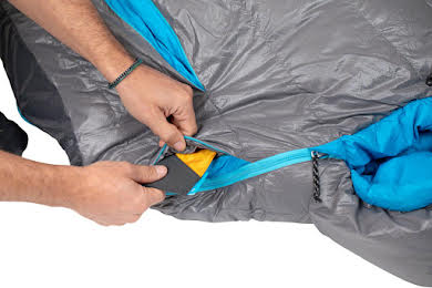 NEMO Kayu, 30, 800-fill DownTek Sleeping Bag, Carbon/Blue Flame, Regular alternate image 0
