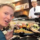 sushi zanmai in Tokyo, Tokyo, Japan