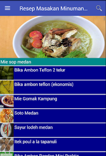 Resep Masakan & Minuman Sumut - náhled