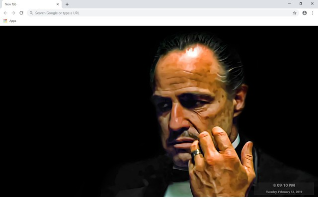 The Godfather Series New Tab Theme