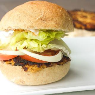 Homemade Veggie Burger Patties with Lima Beans