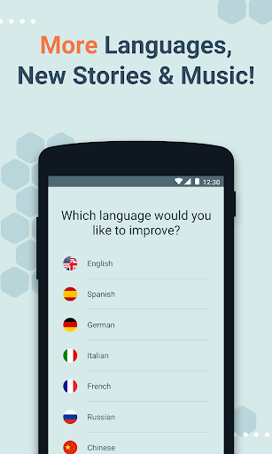 Beelinguapp: Learn Languages Music & Audiobooks 2.380 screenshots 2