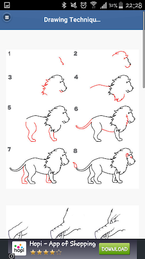 Step by Step Drawing Technique