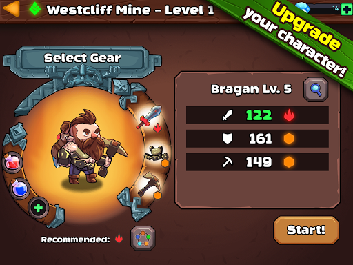 Mine Quest 2 - Mining RPG 2.2.5 screenshots 14