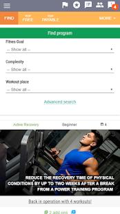 AtletIQ — free trainer - náhled