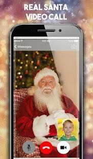Real Santa Video Call 2018 : Santa claus Number - náhled