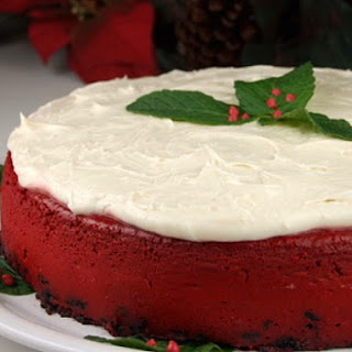 Red Velvet Cheesecake.