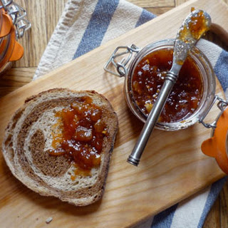 Tomato and Green Apple Jam.