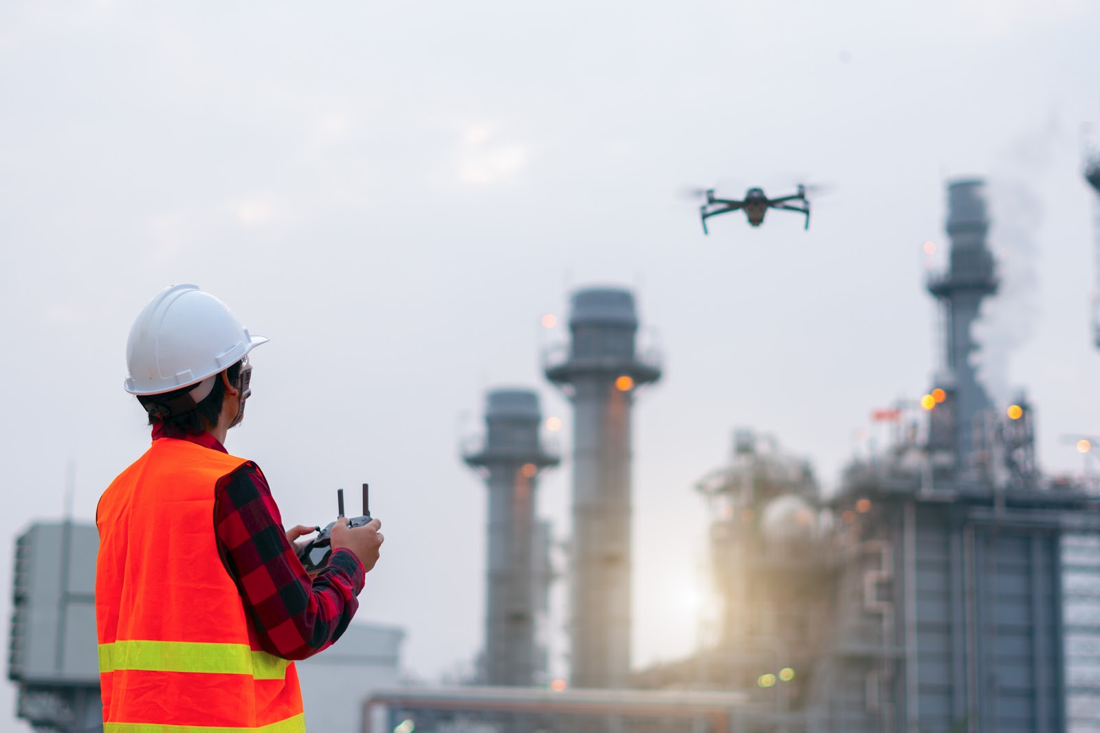 Commercial drone operator