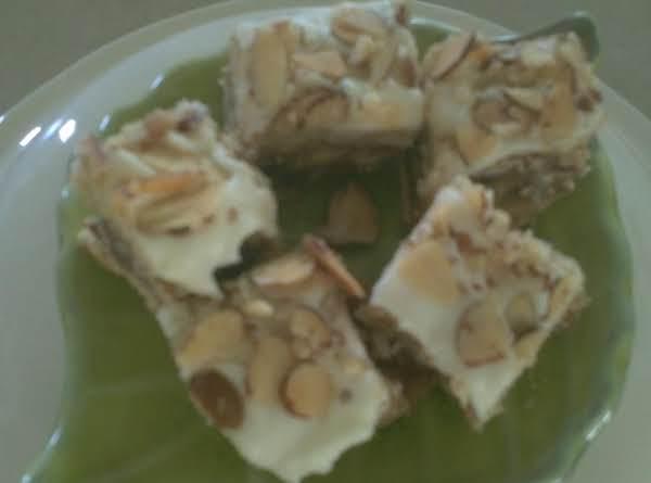 Almond Dream Bars Recipe
