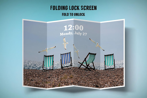 Folding Lock Screen