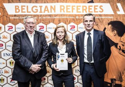 Trois arbitres et quatre assistantes belges reçoivent leur badge FIFA
