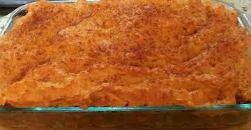Sweet Potato Sheperds Pie