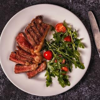 Spicy Sirloin Steak.