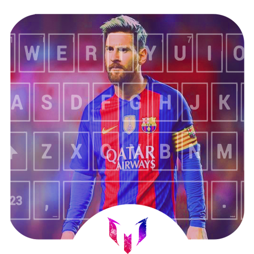 Keyboard for  Messi 2018