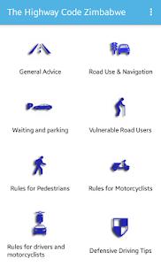 The Highway Code Zimbabwe - náhled