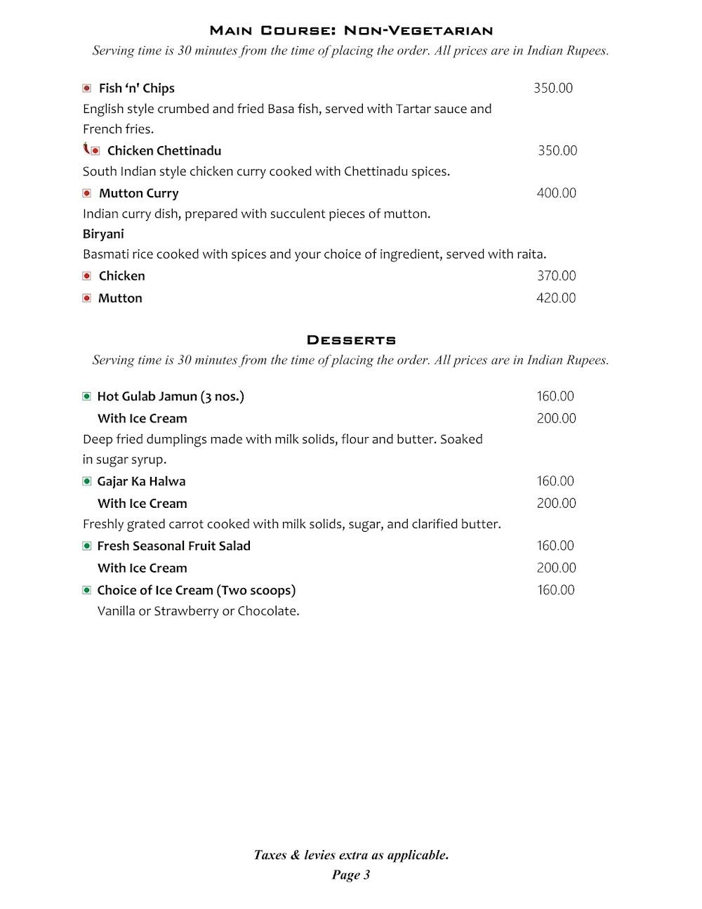 Cafe @ Elanza menu 13