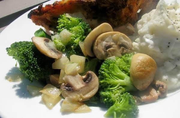 Broccoli And Mushrooms Recipe
