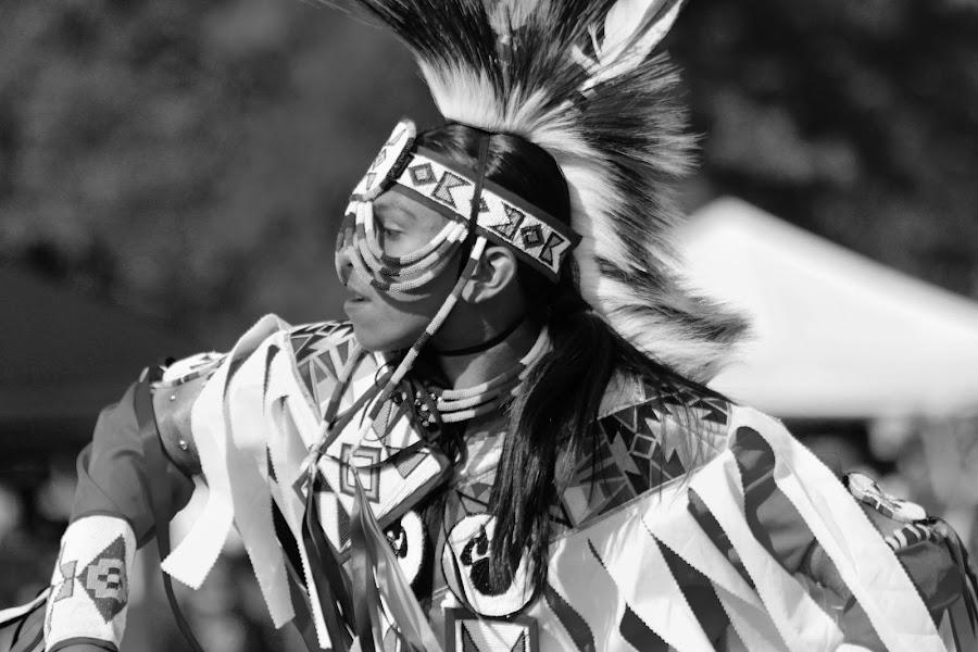 indain dance by Jon Radtke - Black & White Portraits & People ( indain dance )